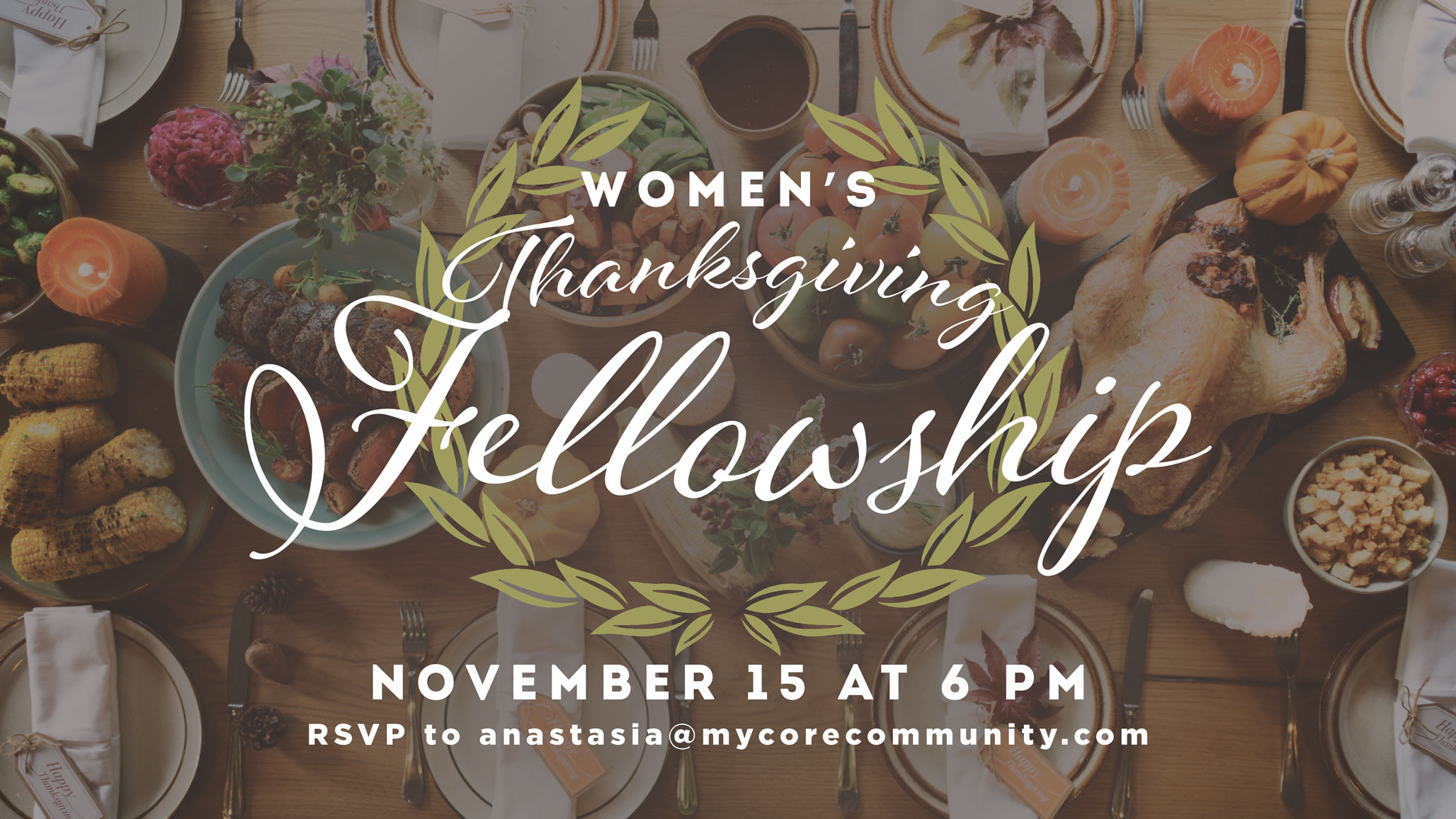 Women's Thanksgiving Fellowship | CORE Christian Community