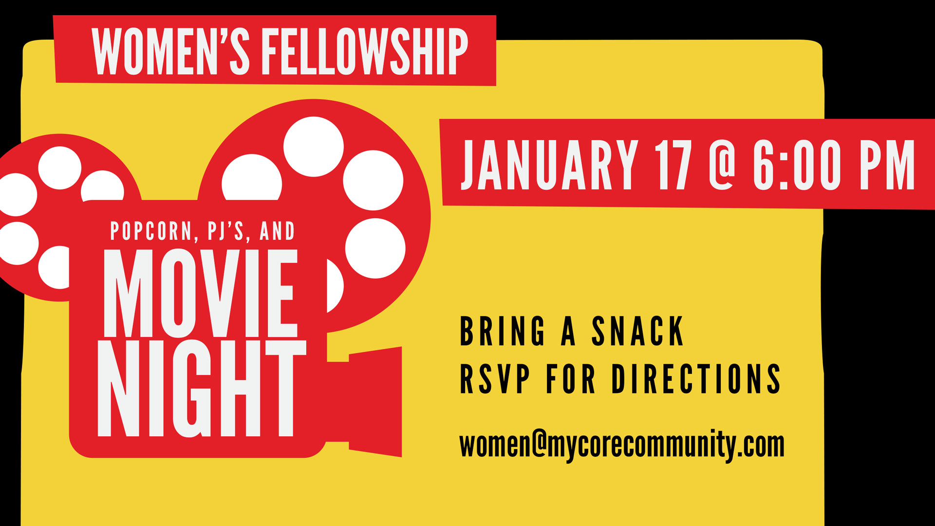 Movie Night | CORE Christian Community